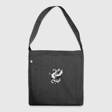 Traditional Dragon - Shoulder Bag made from recycled material
