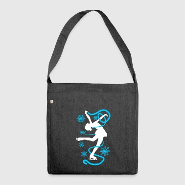 Figure skating Ice skating Ice dance figures - Shoulder Bag made from recycled material