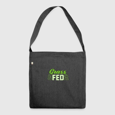 Grass Fed grass fed - Shoulder Bag made from recycled material