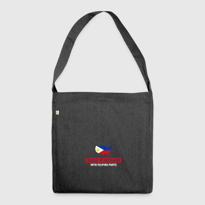 Made In America Avec Filipino Parts Philippines - Sac bandoulière 100 % recyclé