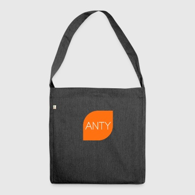ANTY LOGO - Shoulder Bag made from recycled material