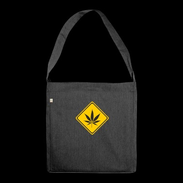 cannabis - Shoulder Bag made from recycled material
