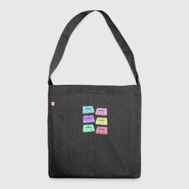 90s MCs - Shoulder Bag made from recycled material