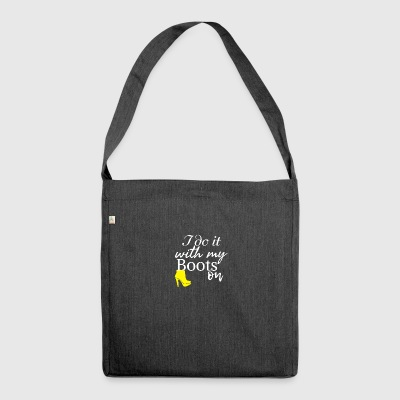 I do it - Schultertasche aus Recycling-Material