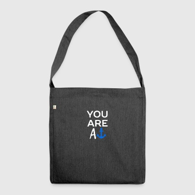 You are - Shoulder Bag made from recycled material
