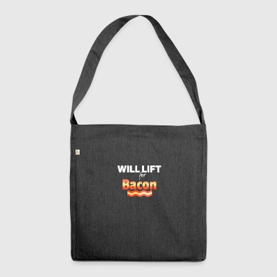 Will lift - Schultertasche aus Recycling-Material