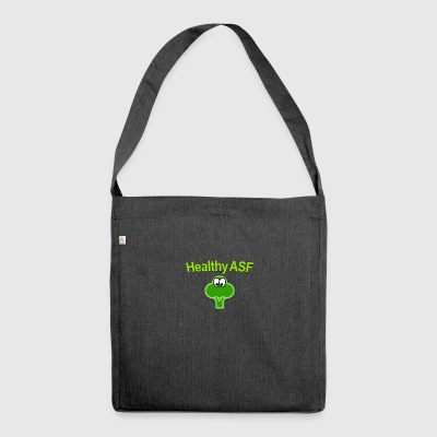 Healthy as fuck - Shoulder Bag made from recycled material