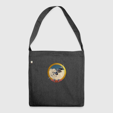 Babylonian 40's air force - Shoulder Bag made from recycled material