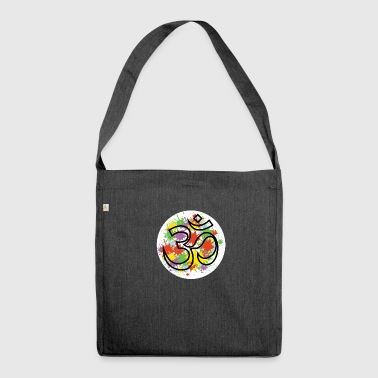 om - Schultertasche aus Recycling-Material