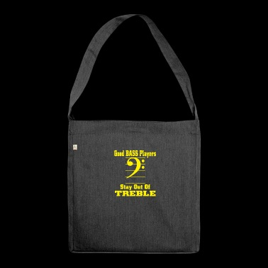 bass players - Shoulder Bag made from recycled material