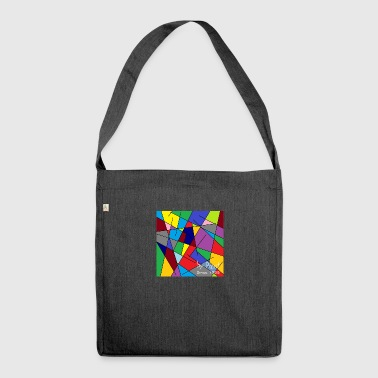 Web 1.0 - Shoulder Bag made from recycled material