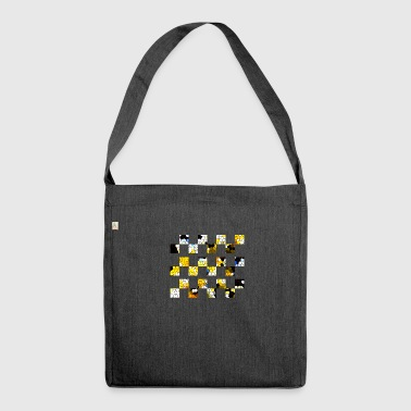 Mosaic II - Shoulder Bag made from recycled material