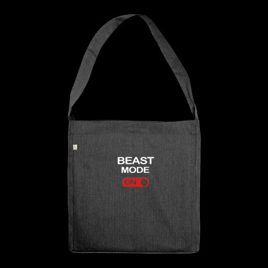 BEAST MODE - Shoulder Bag made from recycled material