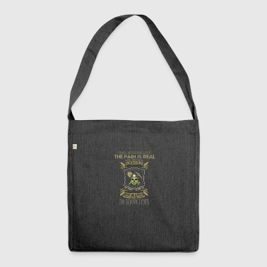 mountain-mining-mining worker-worker-worker-miner - Shoulder Bag made from recycled material