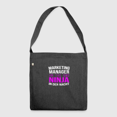 Marketing - Schultertasche aus Recycling-Material