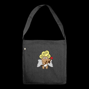 Cupido - Schultertasche aus Recycling-Material