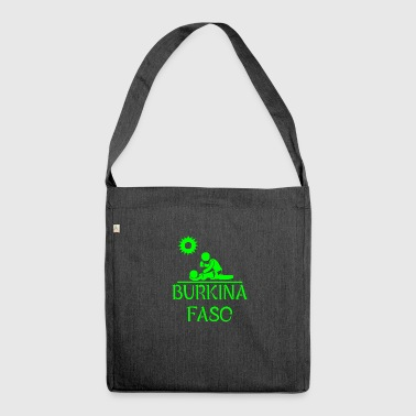 Burkina Faso Urlaub Sommer - Schultertasche aus Recycling-Material