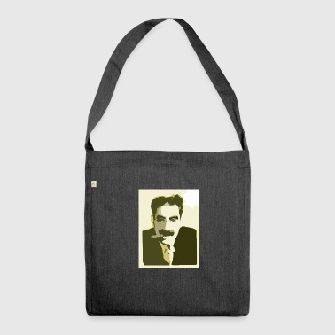 Groucho Marx Yellow - Shoulder Bag made from recycled material