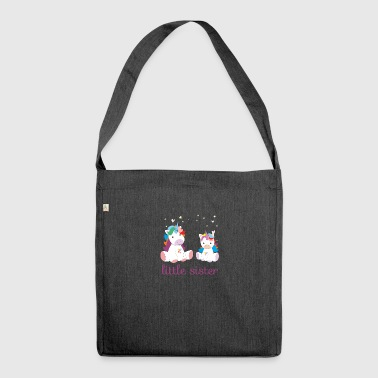 Unicorn little sister - Shoulder Bag made from recycled material