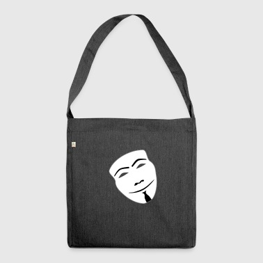 anonymous - Schultertasche aus Recycling-Material