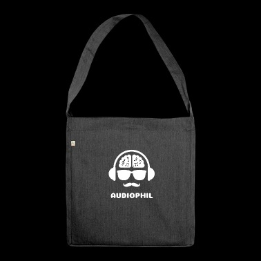Audiophile MUSIC SHIRT - Shoulder Bag made from recycled material
