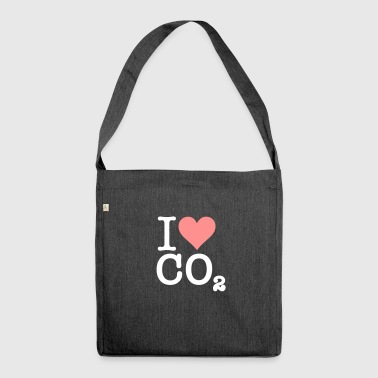 I Love CO2 - Shoulder Bag made from recycled material