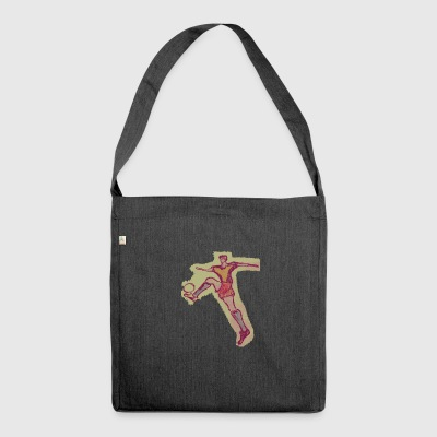 footballer - Shoulder Bag made from recycled material