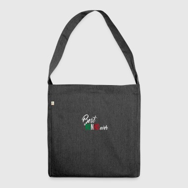 Italian grandfather - Shoulder Bag made from recycled material