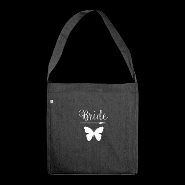 Wedding marriage marry love wife pounding love - Shoulder Bag made from recycled material