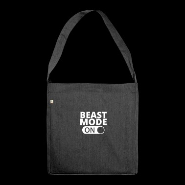 MODE ON Beast bodybuilding - Schultertasche aus Recycling-Material
