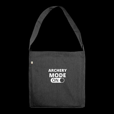MODE ON ARCHERY - Shoulder Bag made from recycled material