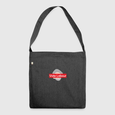 Vote Labour / Jeremy Corbyn - Shoulder Bag made from recycled material