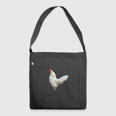 cock chicken chicken cock - Shoulder Bag made from recycled material