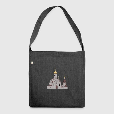 Orthodoxe Kirche - Schultertasche aus Recycling-Material