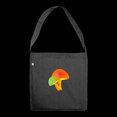 mushrooms - Shoulder Bag made from recycled material
