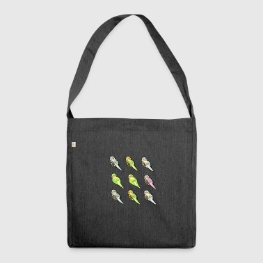 Budgies - Shoulder Bag made from recycled material