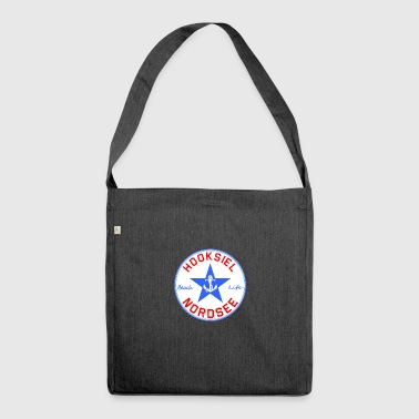 Hooksiel logo - Shoulder Bag made from recycled material