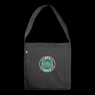 Made in Kazakhstan - Shoulder Bag made from recycled material