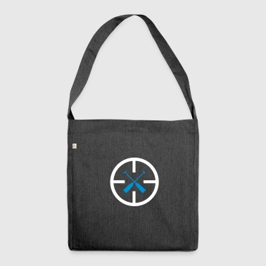 Dragon boat target 2c - Shoulder Bag made from recycled material