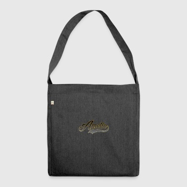Vorname Amelie - Schultertasche aus Recycling-Material