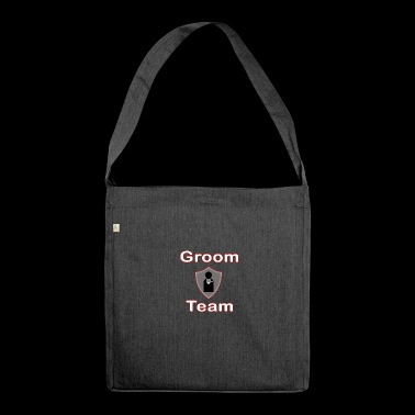Groom Team - Schultertasche aus Recycling-Material
