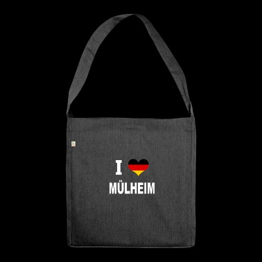 I Love Germany MUeLHEIM - Shoulder Bag made from recycled material