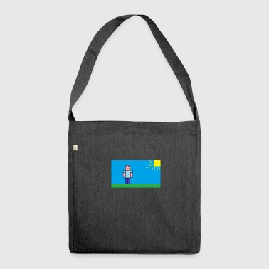 tetu_minecraft - Shoulder Bag made from recycled material
