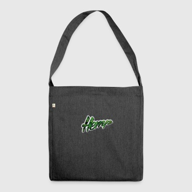 Hemp - Ganja - Marijuana - Shoulder Bag made from recycled material