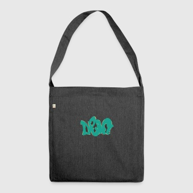 drift graffiti green - Shoulder Bag made from recycled material