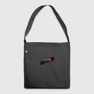 She persisted! - Shoulder Bag made from recycled material