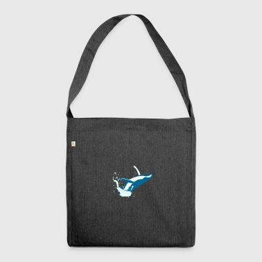 whale - Shoulder Bag made from recycled material
