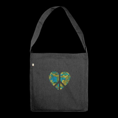 peace 2069702 960 720 - Schultertasche aus Recycling-Material