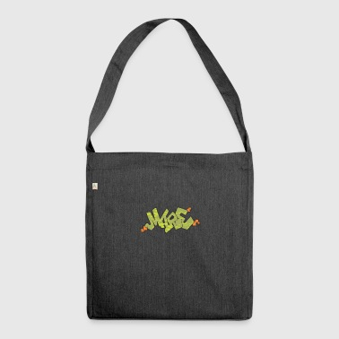 mare Graffiti - Schultertasche aus Recycling-Material