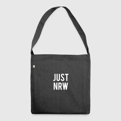 Just nrw north rhine westphalia - Shoulder Bag made from recycled material